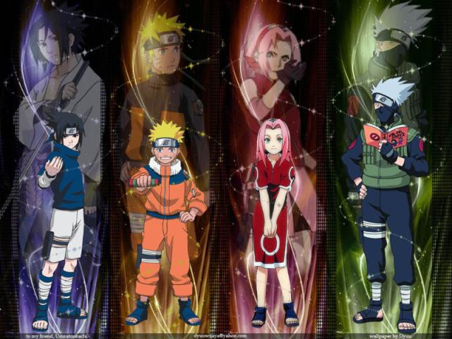 🌸Quem você seria no time 7 de Naruto? 💥